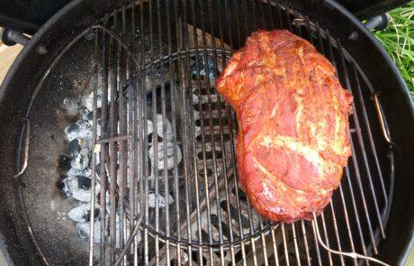 pulled pork roken