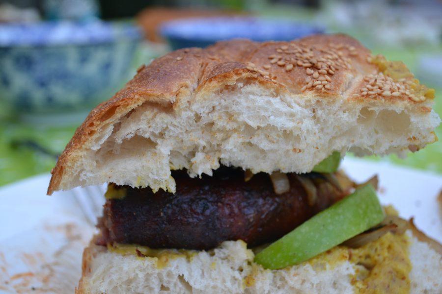 braadworst op brood