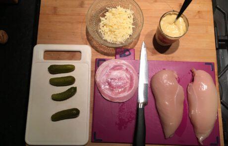 ingrediënten gerookte kipfilet
